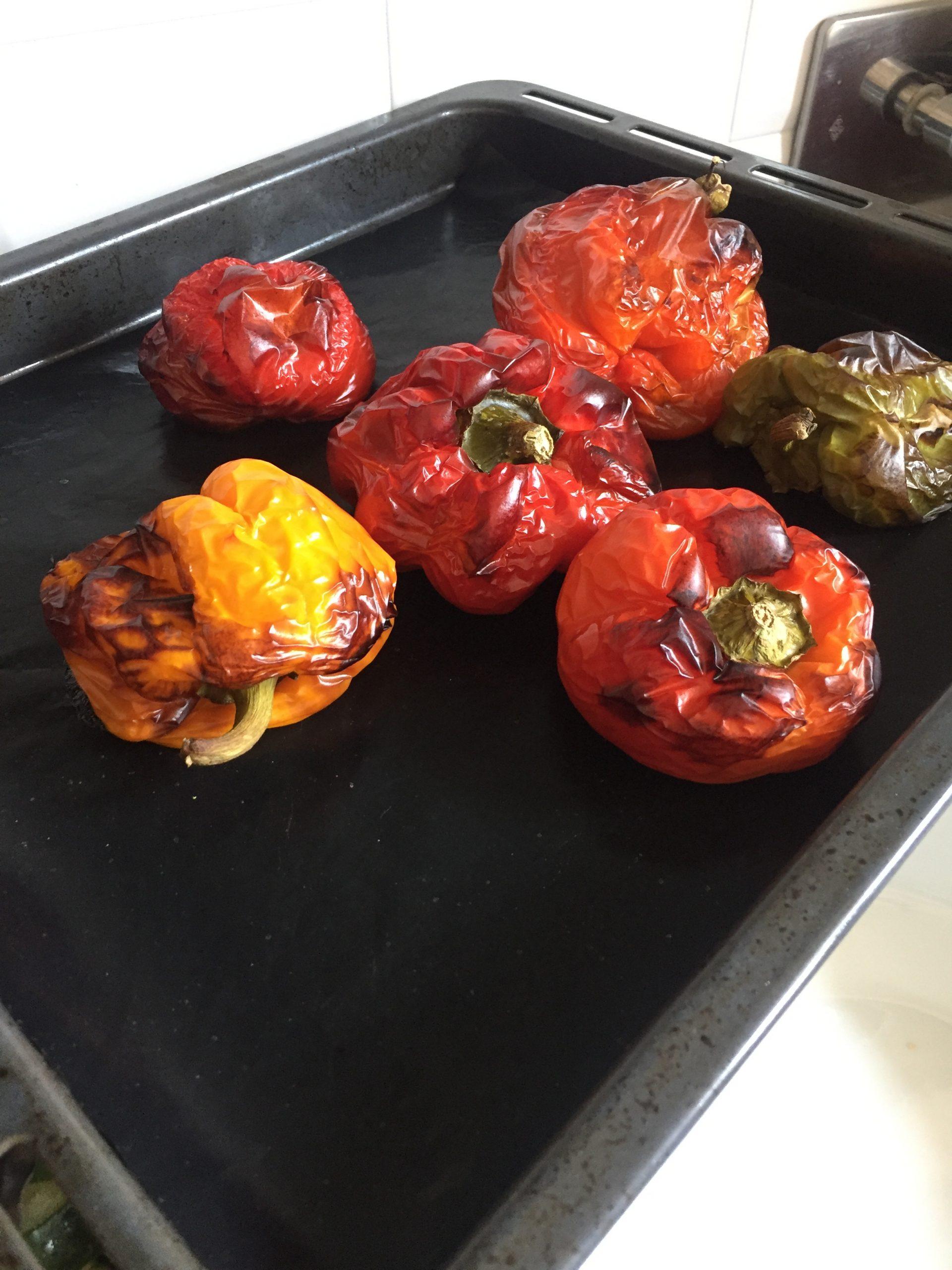 peperoni arrostiti un piatto dell estate
